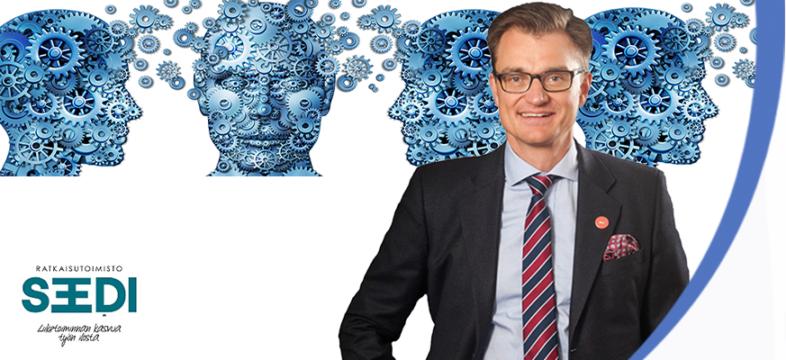 Marko Parkkinen on yritysjohdon konsultti Ratkaisutoimisto Seediddä.