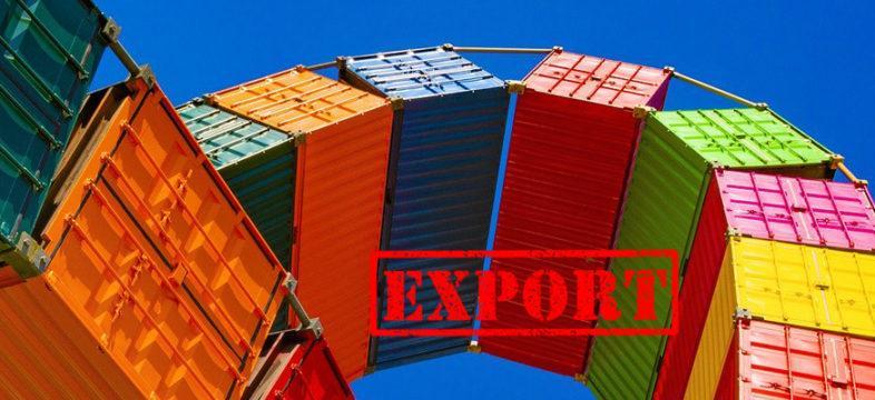 Vienti, kontit, export