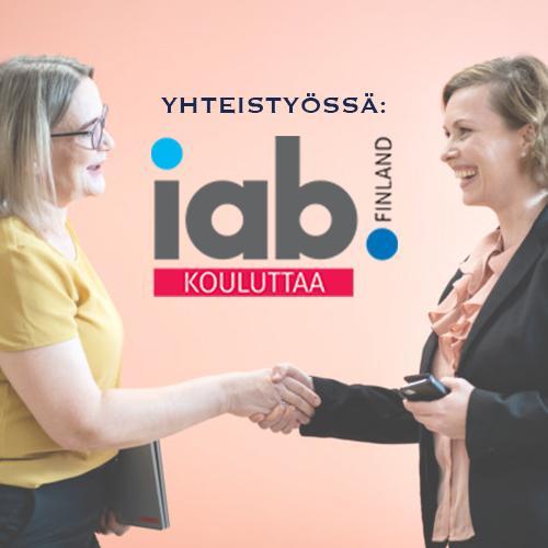 IAB Finland - digitaalisen markkinoijan ja myyjän sertifikaatti