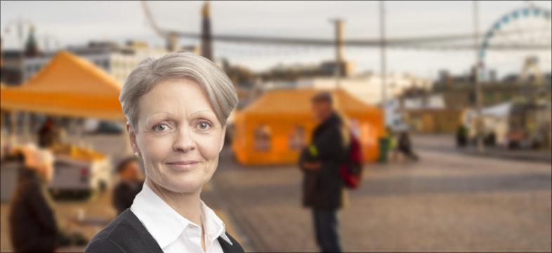 Tiina Pasuri on Helsingin seudun kauppakamarin johtava asiantuntija.