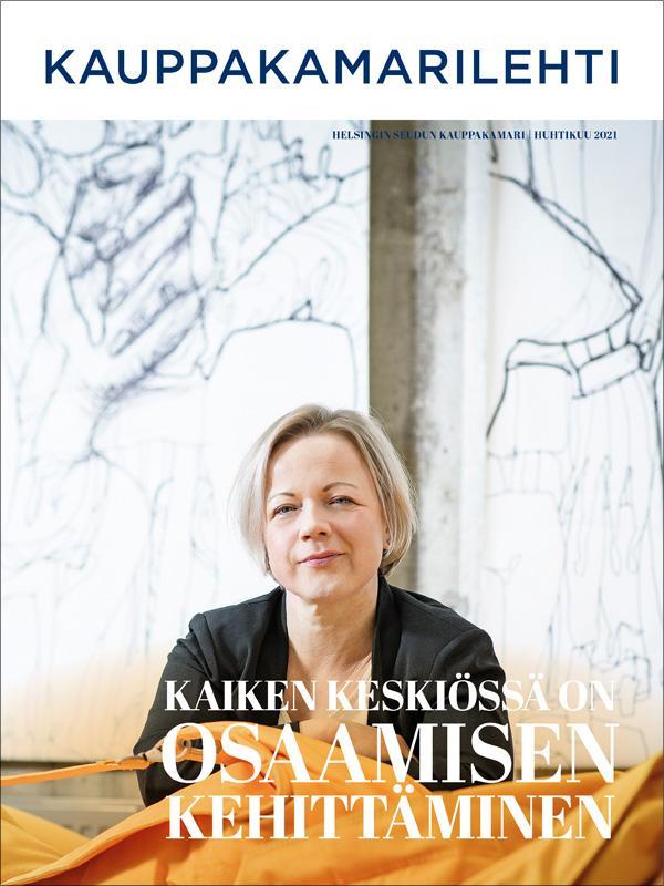 Kauppakamarilehti.fi ilmestyy verkossa. Numero 2/2021.