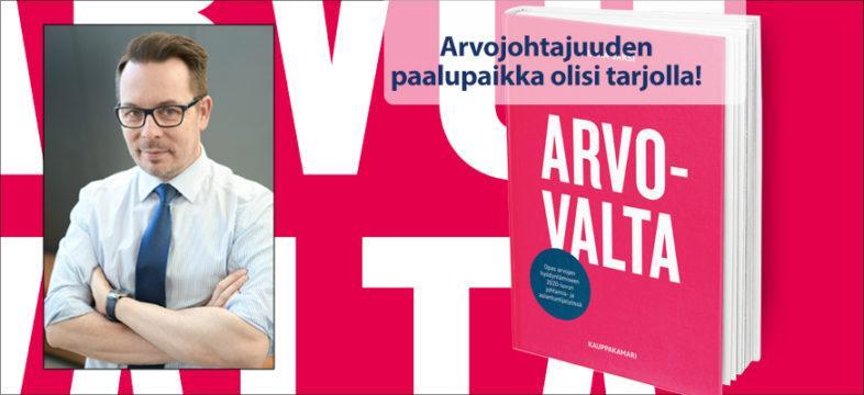 Jukka Saksi on viestintäyrittäjä, osallistamisen fasilitaattori ja Arvovalta-kirjan kirjoittaja.