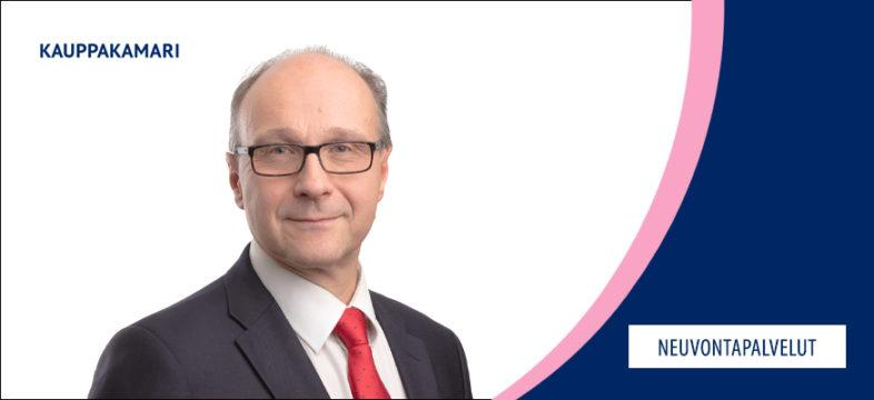 Marko Silen on Helsingin seudun kauppakamarin johtaja.