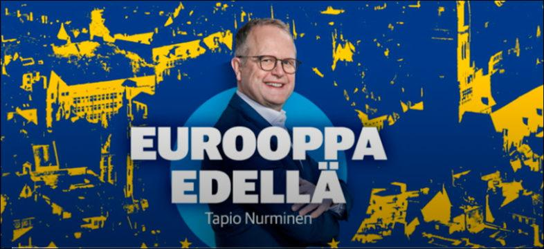 Kauppalehden Saksan kirjeenvaihtaja Tapio Nurminen.