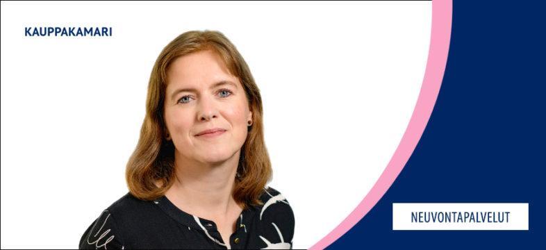 Kati Mattinen on Helsingin seudun kauppakamarin lakimies.