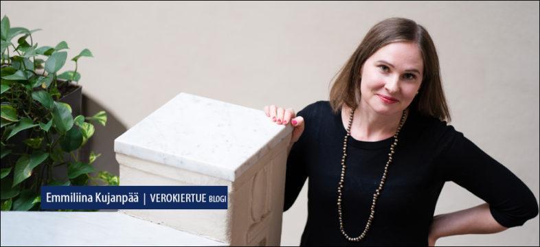 Keskuskauppakamarin johtava veroasiantuntija Emmiliina Kujanpään Verokiertue-blogikirjoitus.