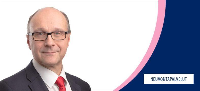 Helsingin seudun kauppakamarin johtaja Marko Silen, neuvontapalvelut.