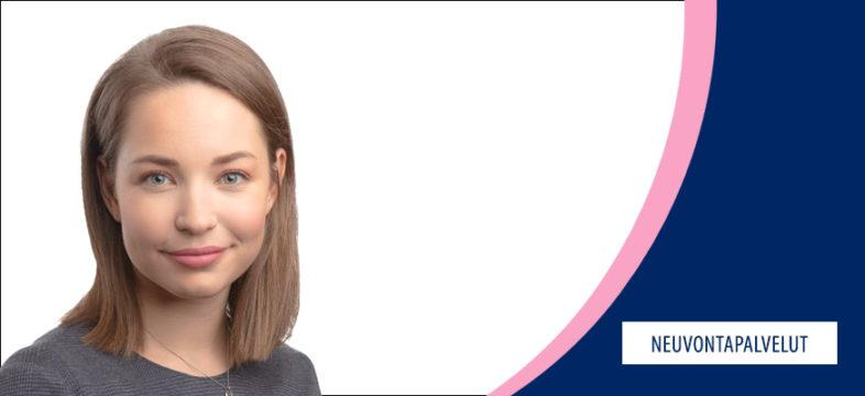 Helsingin seudun kauppakamarin lakimies Joanna Ahokanto.