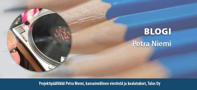 Petra Niemi, projektipäällikkö, Tulus Oy, blogi, Helsingin seudun kauppakamari, KauppakamariNYT