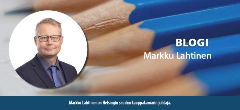 Markku Lahtinen, johtaja, Helsingin seudun kauppakamari, KauppakamariNYT