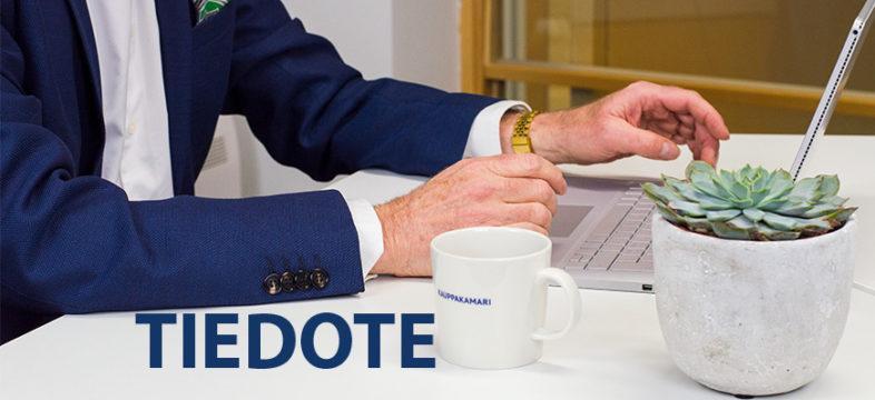 Helsingin seudun kauppakamari, tiedote, mediatiedote