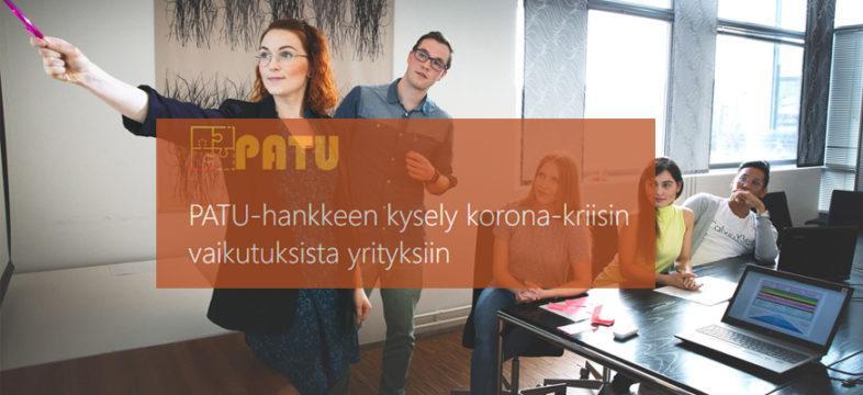 Tule mukaan PATU-hankkeeseen kehittämään yrityksesi liiketoimintaa ja löytämään ratkaisuja koronakriisin selättämiseen yhdessä toisten yrittäjien ja Laurea ammattikorkeakoulun asiantuntijoiden kanssa.
