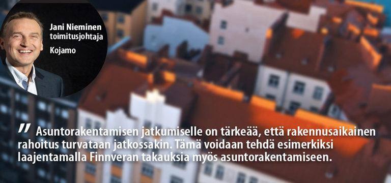 Toimitusjohtaja Jani Nieminen, Kojamo
