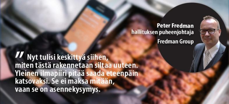 Yrityskommentti: Fredman Groupin hallituksen puheenjohtaja Peter Fredman