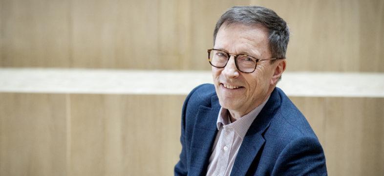 Keskon aluejohtaja Timo Heikkilä.