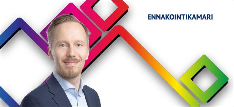 Ennakointikamarin projektipäällikkö Olli Oja. Ennakointikamari vastaa Helsingin seudun työvoimahaasteeseen yhdistämällä yritykset, oppilaitokset ja viranomaiset.