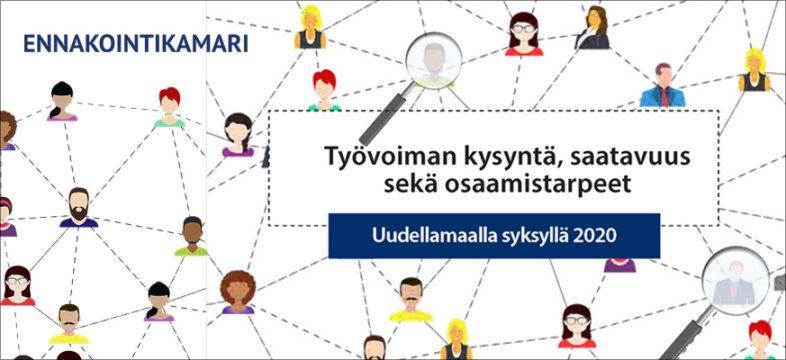 Ennakointikamarin tilannekatsaus tarkastelee Uudenmaan työllisyyttä ja osaamistarpeita