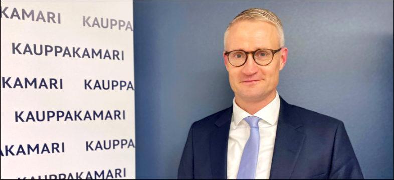 Työelämäprofessori Jarno Limnell Aalto-yliopistosta puhui Helsingin seudun kauppakamarin valtuuskunnan kokouksessa 14.1.2021.