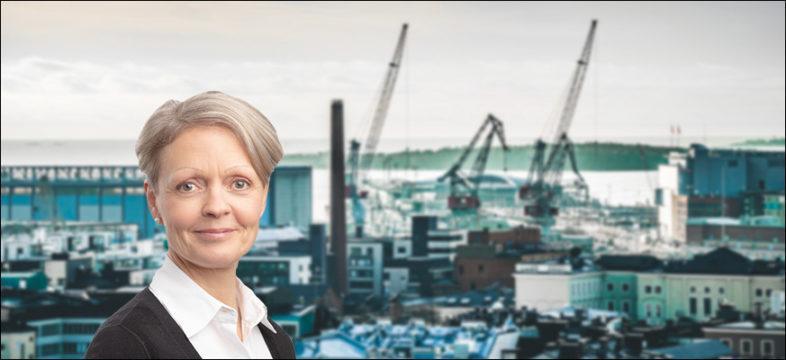 Helsingin keskusta-alueen kehittäminen on yhteinen projekti, Tiina Pasuri Helsingin seudun kauppakamari.